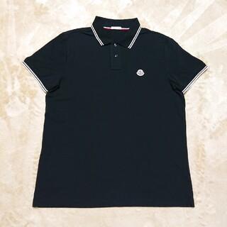 MONCLER - MONCLER モンクレール ポロシャツ L ブラック
