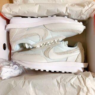 新品26cm Nike x sacai LDV Waffle ホワイト(スニーカー)