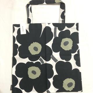 マリメッコ(marimekko)の新品未使用 マリメッコ  ウニッコ ブラック トートバッグ ぺたんこバッグ  (トートバッグ)