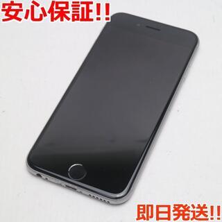 アイフォーン(iPhone)の良品中古 SIMフリー iPhone6S 128GB スペースグレイ (スマートフォン本体)