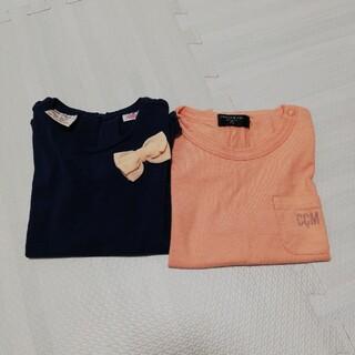 ザラ(ZARA)のトップス2着セット(Tシャツ/カットソー)