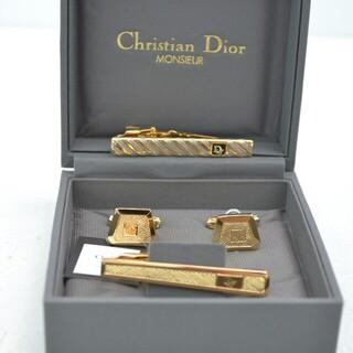 Christian Dior - 早い者勝ち!【USED品】クリスチャン ディオール ネクタイピン カフスボタン