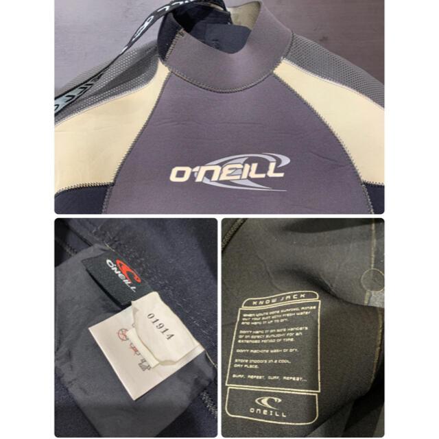 O'NEILL(オニール)の送料込 O'NEILL オニール ウエットスーツ ロングスリーブ ML 3×2  スポーツ/アウトドアのスポーツ/アウトドア その他(サーフィン)の商品写真