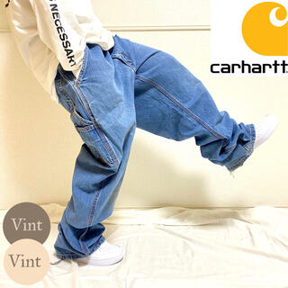 carhartt - カーハート メキシコ製 FR デニム ペインター ワーク パンツ ライトブルー