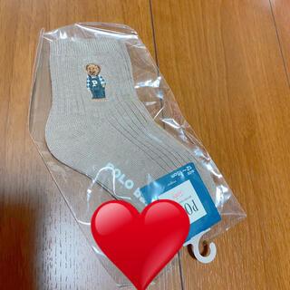 しまむら - ポロベア ワンポイント 靴下