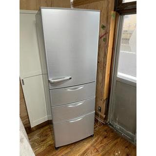 ハイアール(Haier)の101 AQUA 4ドア冷蔵庫 AQR-361B(W) 2013年製(冷蔵庫)