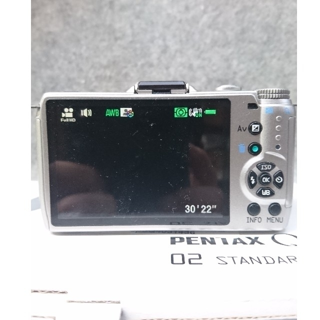 PENTAX(ペンタックス)のPENTAX Q10 標準レンズセット スマホ/家電/カメラのカメラ(ミラーレス一眼)の商品写真