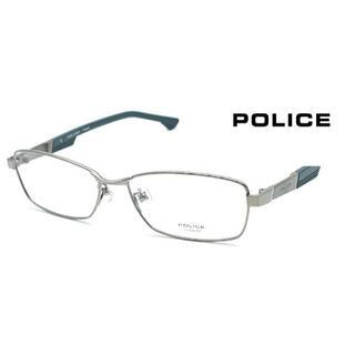 ポリス(POLICE)の伊達眼鏡(フレームグリーン) 型番:VPL544J(POLICE)(サングラス/メガネ)