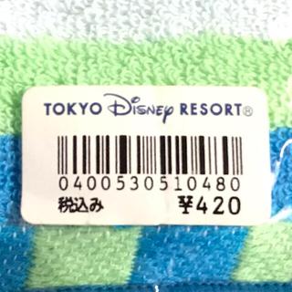 ディズニー(Disney)の新品 東京ディズニーランド ミッキー 長方形 ミニ タオル(ハンカチ)