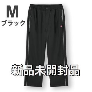 GU - GU × UNDERCOVER パイピングワイドパンツ M 黒 アンダーカバー