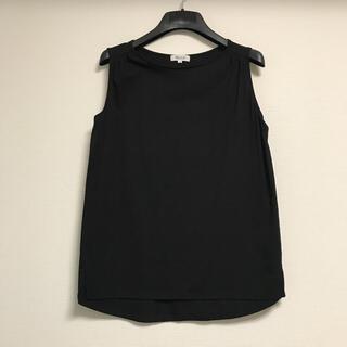 プラステ(PLST)のPLST  プラステ モダールコットンノースリーブTシャツ(Tシャツ(半袖/袖なし))