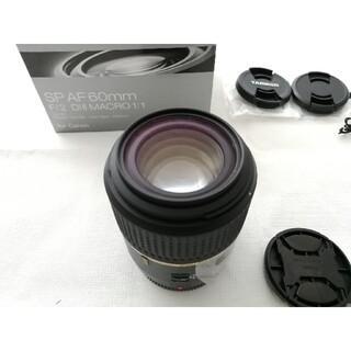 タムロン(TAMRON)のTAMRON 単焦点マクロレンズ SP AF60mm キヤノン用 APS-C専用(レンズ(単焦点))