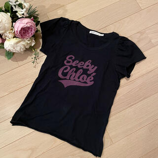 シーバイクロエ(SEE BY CHLOE)のSEE BY CHLOE ロゴ入りTシャツ(Tシャツ(半袖/袖なし))
