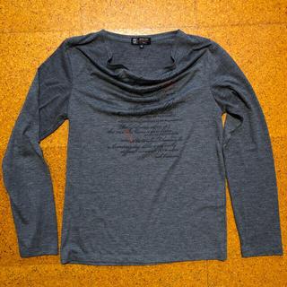 ミッシェルクラン(MICHEL KLEIN)のミシェルクランカットソー襟ぐりデザインが特徴的(Tシャツ/カットソー(七分/長袖))
