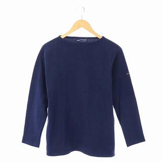 SAINT JAMES - セントジェームス SAINT JAMES バスクシャツ SM 紺 ネイビー