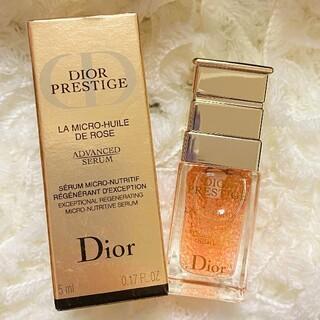 Christian Dior - 最新版  ディオール プレステージ マイクロ ユイルドローズ セラム 美容液