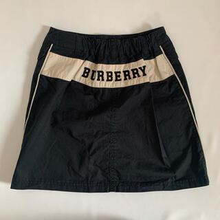 バーバリー(BURBERRY)のBurberry バーバリー 140cm ロゴ刺繍スカート(スカート)