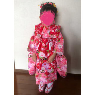 七五三  3歳 女の子 着物(和服/着物)