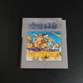 ゲームボーイ(ゲームボーイ)のドンキーコング GB(家庭用ゲームソフト)