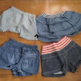 コンビミニ(Combi mini)のコンビミニ パンツ スカート 90 セット(パンツ/スパッツ)