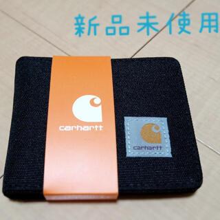 カーハート(carhartt)の【新品未使用】Carhartt カーハート 財布 ブラック ウォレット 黒(折り財布)