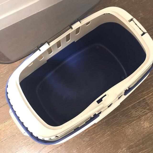 Richell(リッチェル)のリッチェル ベッドキャリー ブルー ペット用 その他のペット用品(かご/ケージ)の商品写真