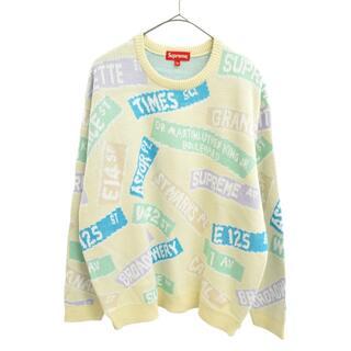 シュプリーム(Supreme)のSUPREME シュプリーム 長袖セーター(ニット/セーター)