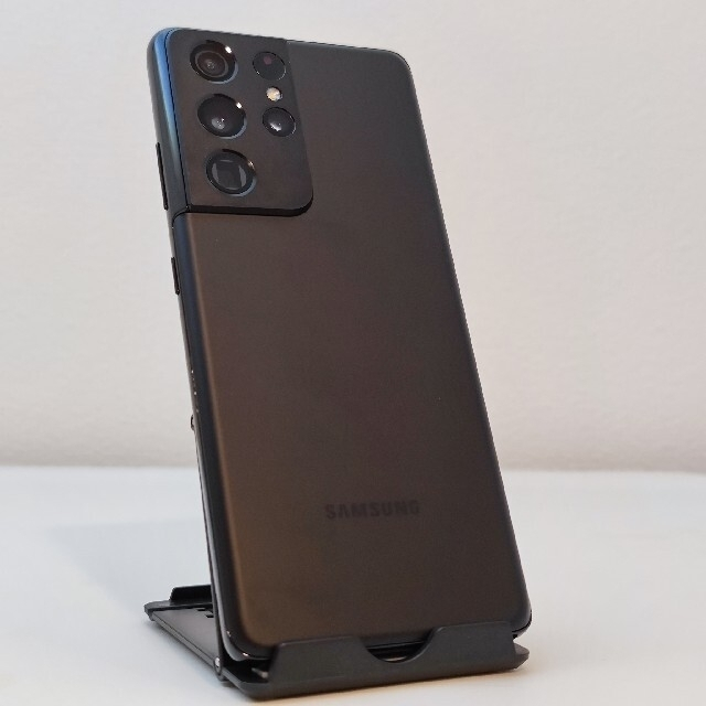 SAMSUNG(サムスン)のGalaxy S21 Ultra Sペン+アラミド繊維ケースセット スマホ/家電/カメラのスマートフォン/携帯電話(スマートフォン本体)の商品写真