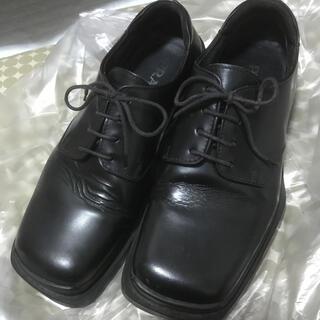 プラダ(PRADA)のPRADAスクエア型革靴(ドレス/ビジネス)