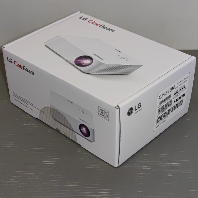LG Electronics(エルジーエレクトロニクス)のLG Cine Beam プロジェクター CJH310N スマホ/家電/カメラのテレビ/映像機器(プロジェクター)の商品写真
