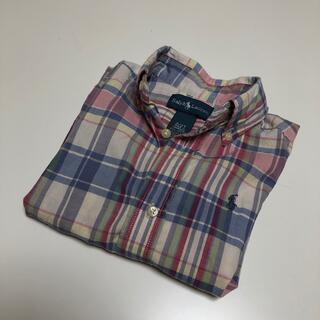 ラルフローレン(Ralph Lauren)の《ralph lauren》2/2T チェックシャツ (その他)