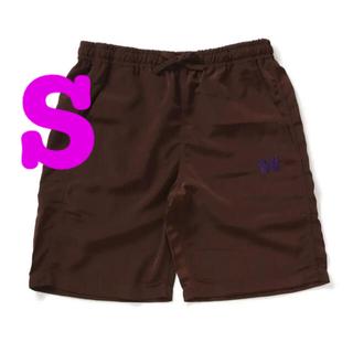 ニードルス(Needles)のSサイズ NEEDLES Basketball Short Brown(ショートパンツ)