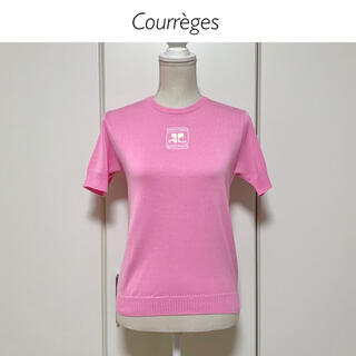 Courreges - 【新品タグ付】Courrèges 半袖サマーニットカットソー