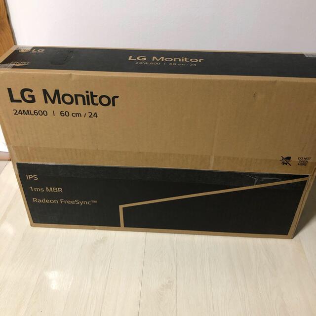 LG Electronics(エルジーエレクトロニクス)のLG モニター ディスプレイ スマホ/家電/カメラのPC/タブレット(ディスプレイ)の商品写真