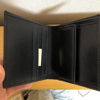 ムジルシリョウヒン(MUJI (無印良品))の定価6900円MUJI 無印良品 イタリア産ヌメ革二つ折り財布(財布)