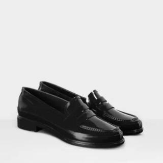 ハンター(HUNTER)のHUNTER ペニーローファー BLACK(ローファー/革靴)