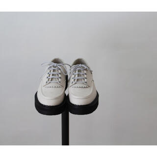 フットザコーチャー(foot the coacher)のfoot the coacher CHAOS SHOES White 8(ブーツ)