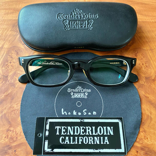 TENDERLOIN - TENDERLOIN × 白山眼鏡店 IN THE WIND ブラック/ゴールド