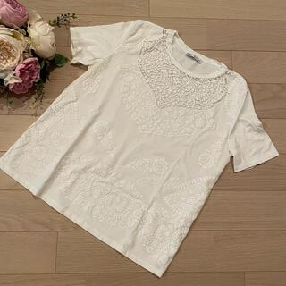 ザラ(ZARA)のZARA  幾何学模様Tシャツ(Tシャツ(半袖/袖なし))