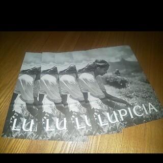 ルピシア(LUPICIA)のLUPICIA ショップ紙袋 4枚セット(ショップ袋)