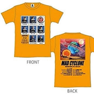 ジェネレーションズ(GENERATIONS)のGENERATIONS  MAD CYCLONE Tシャツ(Tシャツ/カットソー(半袖/袖なし))