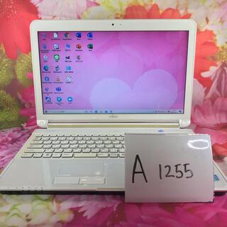 富士通 - 富士通/ノートパソコン本体/i7/office/SSD/ブルーレイ/A1255