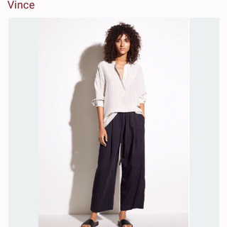 ビンス(Vince)のVINCE ワイドキュロットパンツ(キュロット)