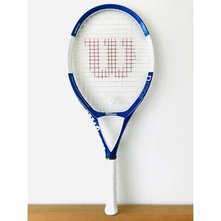 【美品】ウィルソン『Nコード N4/NCODE』テニスラケット/ブルー&ホワイト