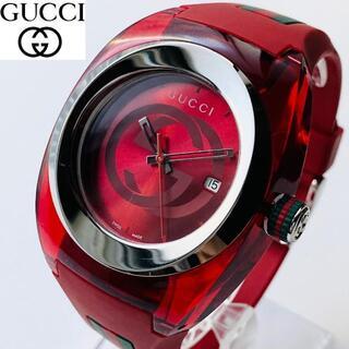 グッチ(Gucci)の【再入荷】定価5.8万 GUCCI メンズ男性 腕時計 新品 ユニセックス(ラバーベルト)
