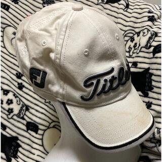 Titleist - 訳ありゴルフキャップ♪【Titleist タイトリスト】FJ/Pro v1帽子