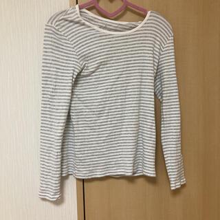 ムジルシリョウヒン(MUJI (無印良品))の無印 ボーダー長袖Tシャツ(Tシャツ(長袖/七分))