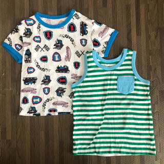 ユニクロ(UNIQLO)の【UNIQLO Baby】トーマスTシャツ セット 100(Tシャツ/カットソー)