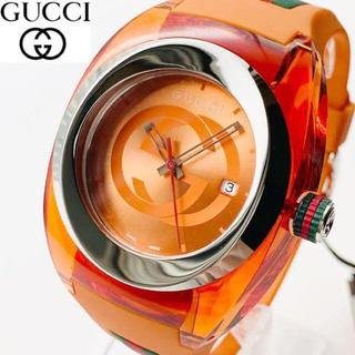 グッチ(Gucci)の【再入荷】定価5.8万 GUCCI メンズ男性 腕時計 新品 SYNC XXL(ラバーベルト)