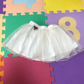 プティマイン(petit main)のプティマイン  チュールスカート 美品(スカート)